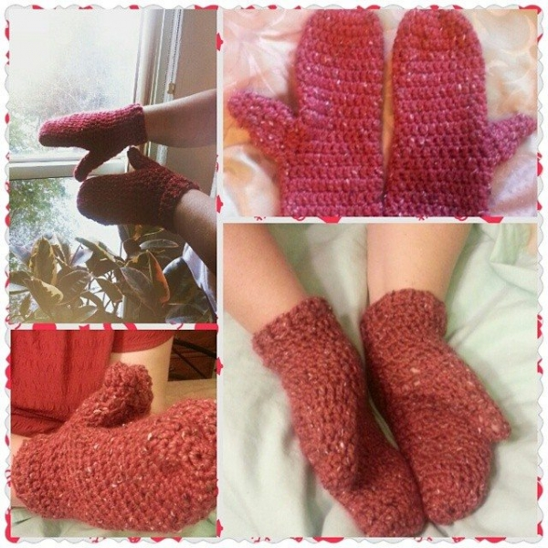 gigididthis crochet mittens