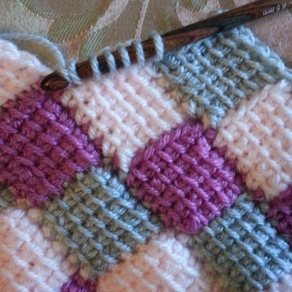 gigididthis entrelac crochet