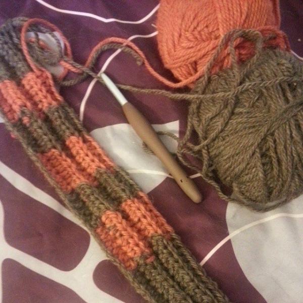 gigididthis ribbed hdc crochet