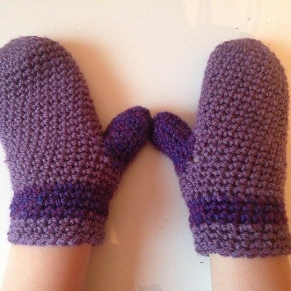gooseberryfool crochet mittens