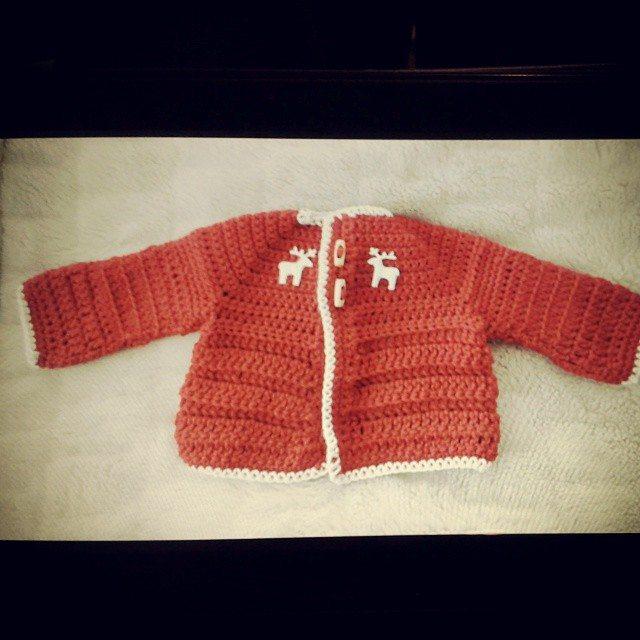hanrosieg crochet cardi