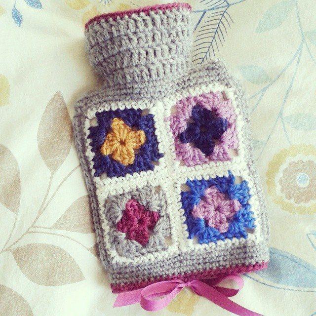 hanrosieg crochet hot water bottle