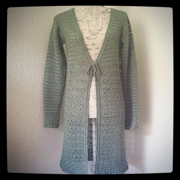 hookybren crochet coat