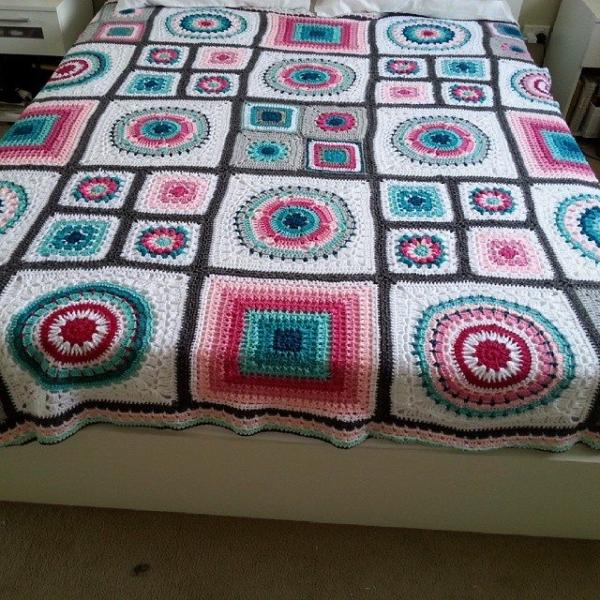huhana4 crochet blanket