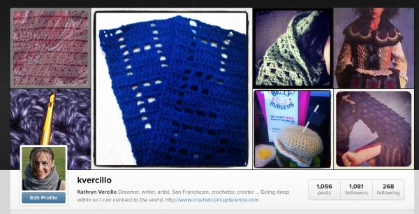 instagram crochet vercillo