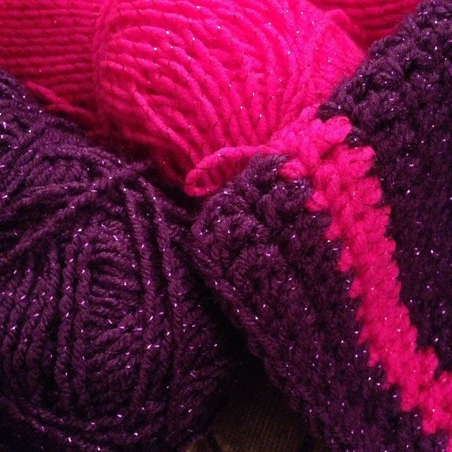 itsjustcrochet crochet sparkly hat