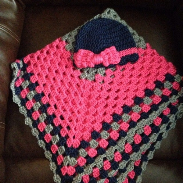 kl_stell crochet granny blanket