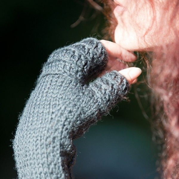 lisesolvang knit and crochet fingerless gloves