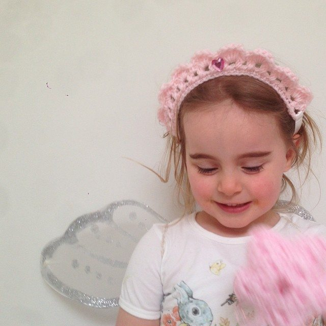 littlefoxcrochet crochet princess crown