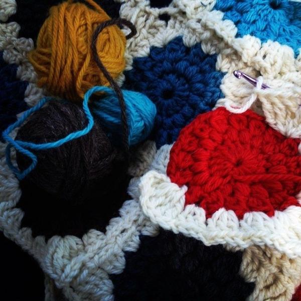 loriseaborg crochet WIP 2