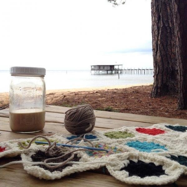 loriseaborg crochet WIP