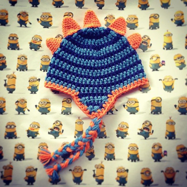 loucamp crochet dino hat
