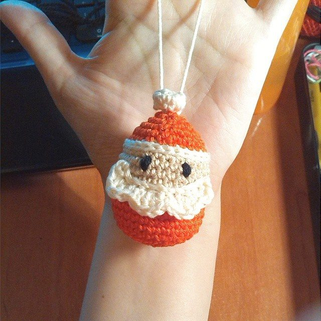magneticmary crochet ornament