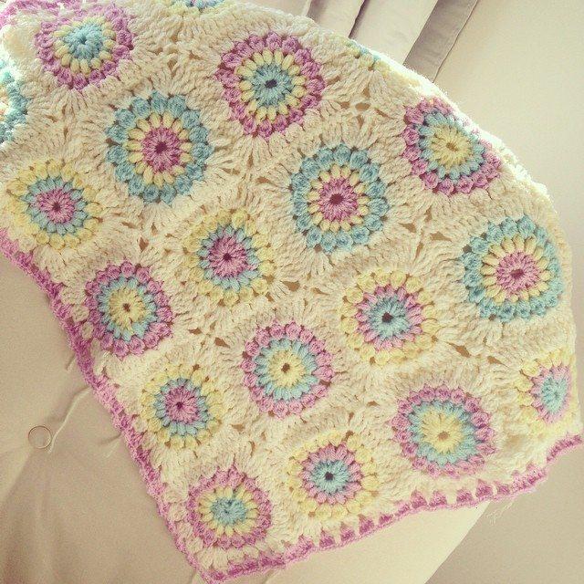 make_the_nest croche blanket border