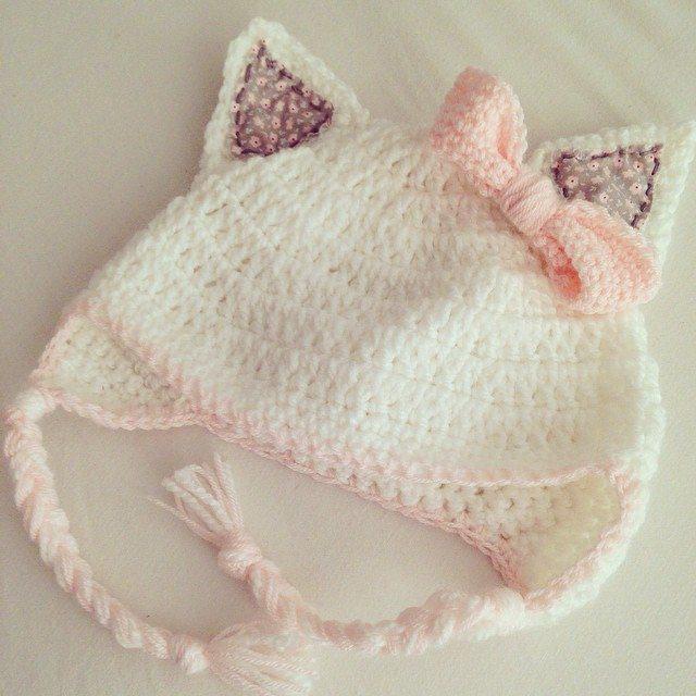 make_the_nest crochet cat hat