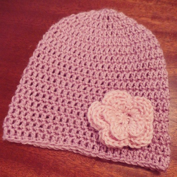 missmotherhook crochet flower hat
