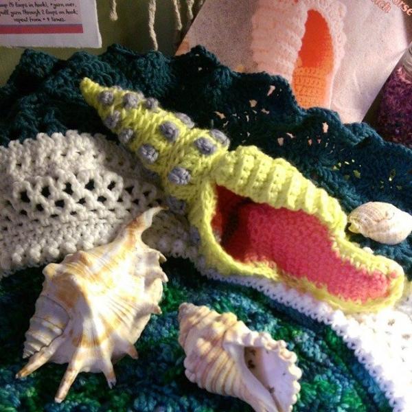 oakherder crochet shell