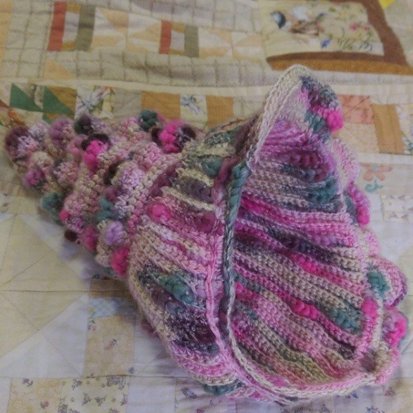 oakherder crochet shell basket