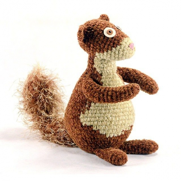 pattihaskins crochet squirrel