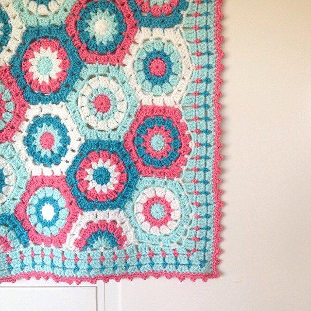 poppyandbliss colorful crochet blanket edgings