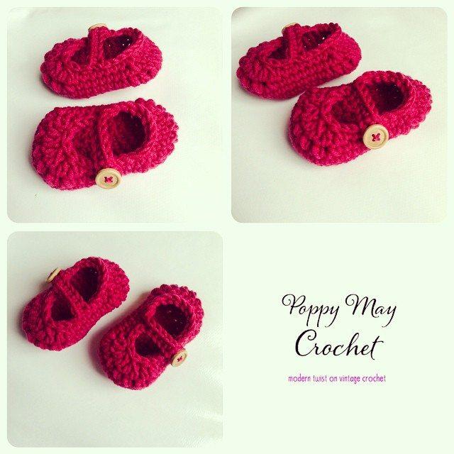 poppymaycrochet crochet sandals