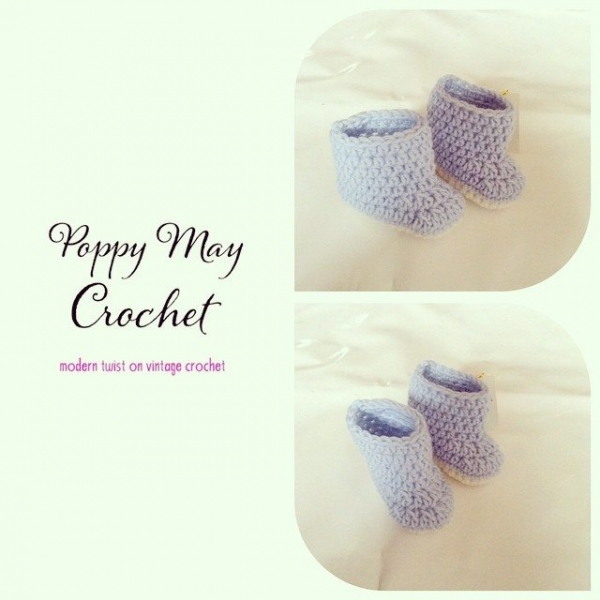 poppymaycrochet crochet shoes 2