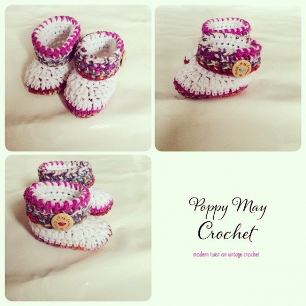 poppymaycrochet crochet shoes