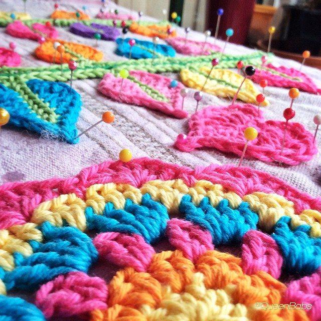 queen_babs blocking crochet