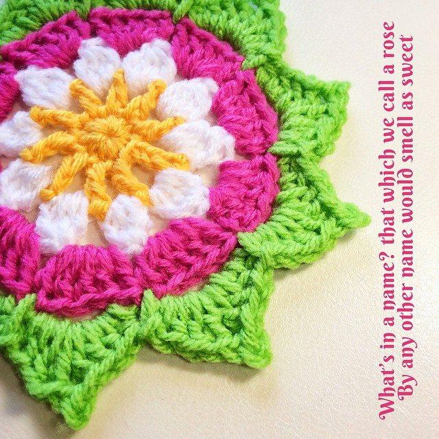queen_babs crochet flower
