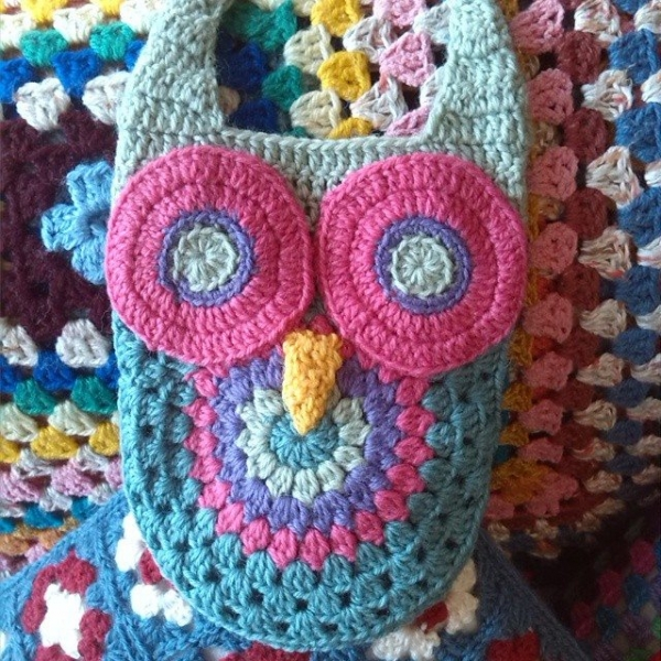 ruthmariamaddock crochet owl