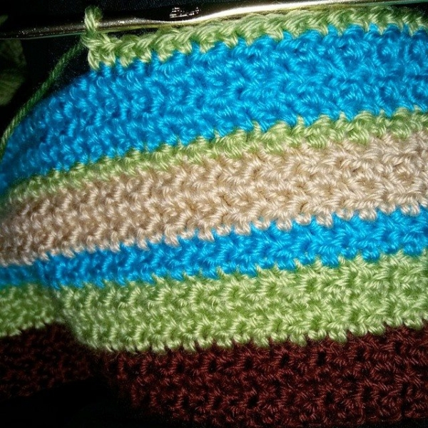 samyaun crochet blanket stripes 2