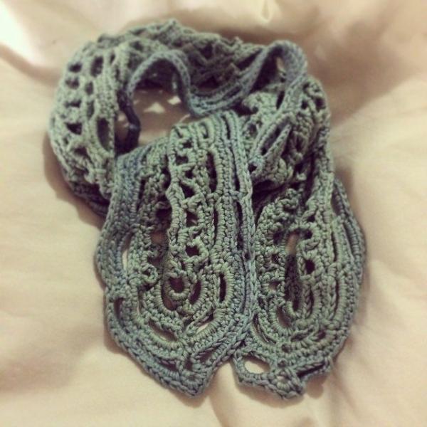 stelcrochet crochet scarf 3