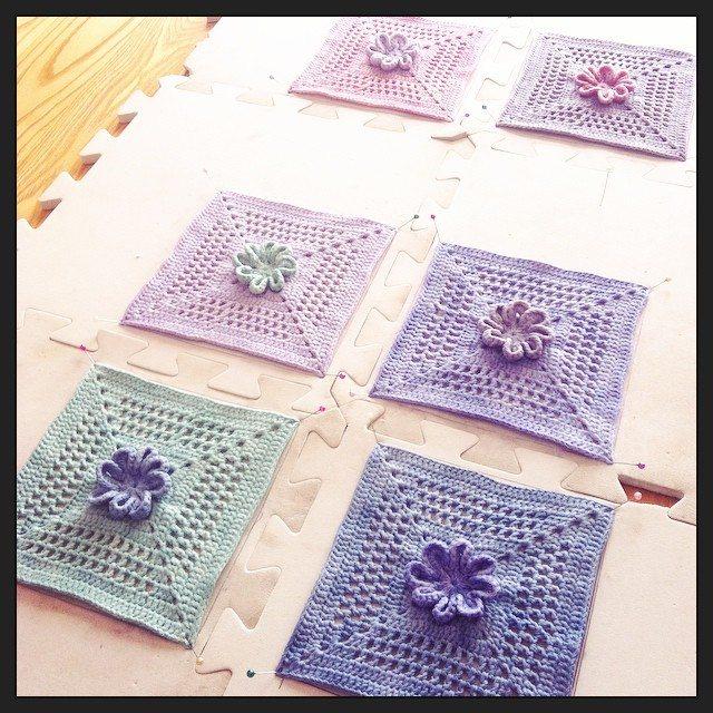 stephaniedavies cal crochet squares