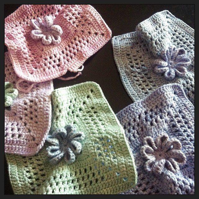 stephaniedavies colored crochet squares
