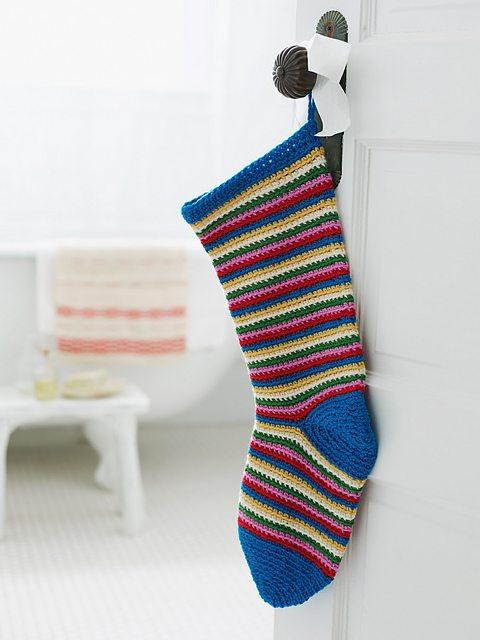 striped crochet stotcking