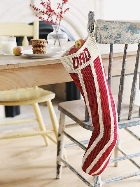 tapestry crochet stockings