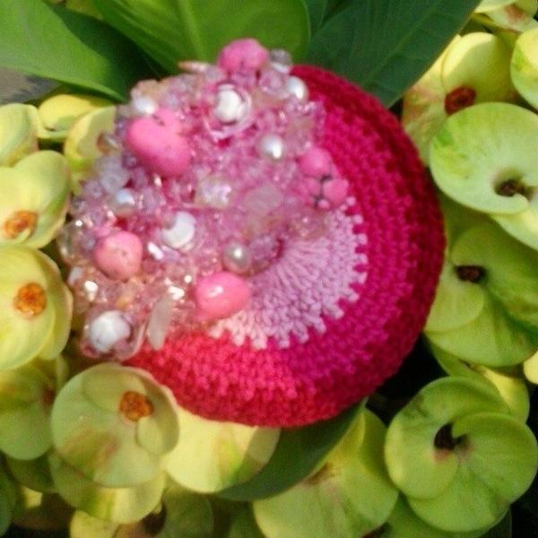 tatianabila crochet pink
