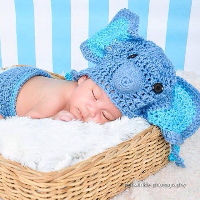 the_yarn_artisan crochet elephant