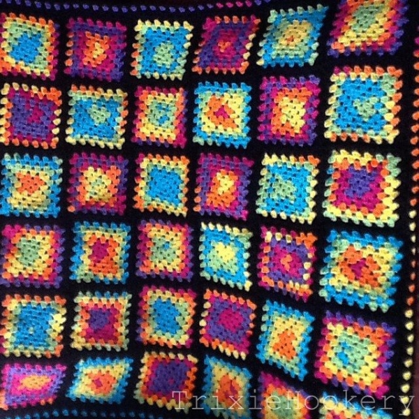 trixiehookery crochet blanket squares