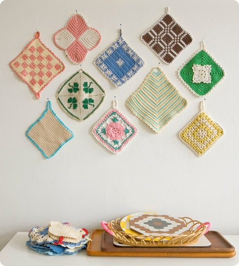 5 Tips For Turning Your Crochet Potholders Into Art Displays