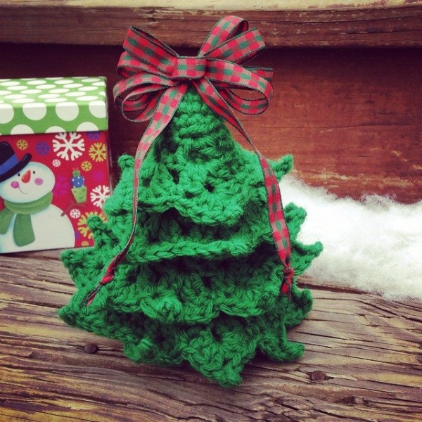 yarnfreak crochet christmas tree