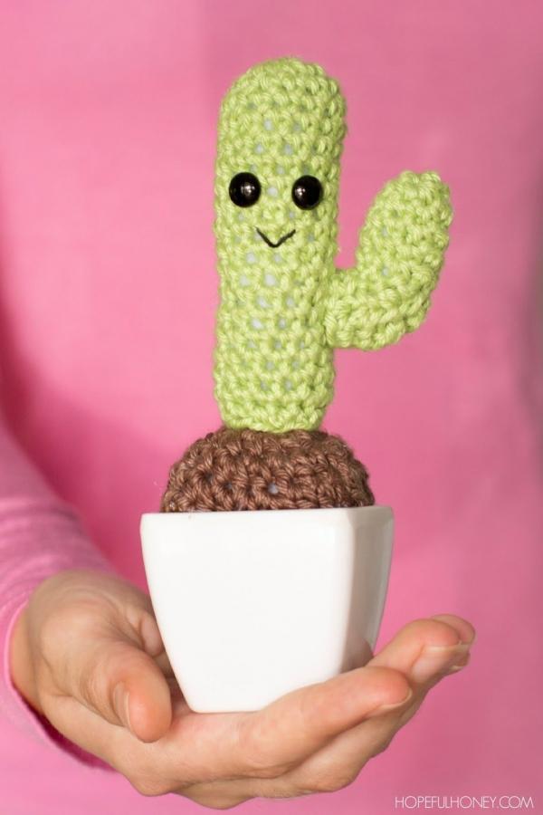 Amigurumi Cactus Crochet Pattern 1