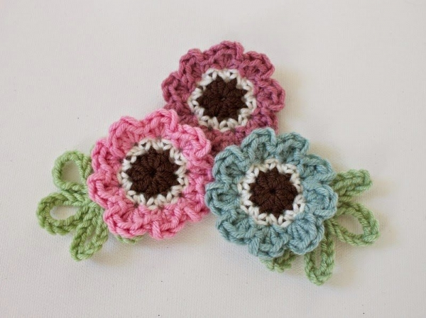 anemone crochet pattern
