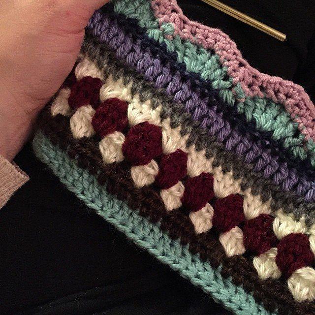 audra_hooknowl crochet sampler blanket