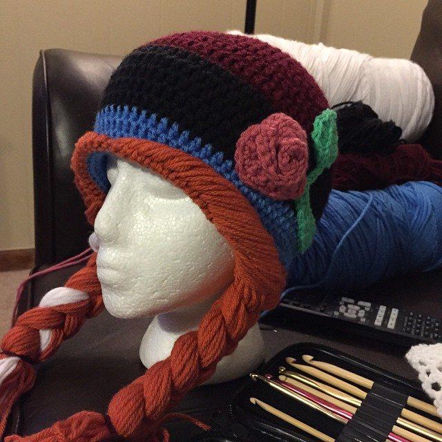 audra_hooknowl crocheted hat
