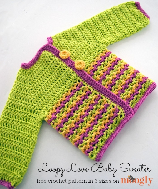 Free Baby Sweater Patterns To Crochet : 35+ New Crochet Patterns for Kids