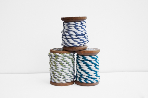bakers twine upcycled t-shirt yarn crochet