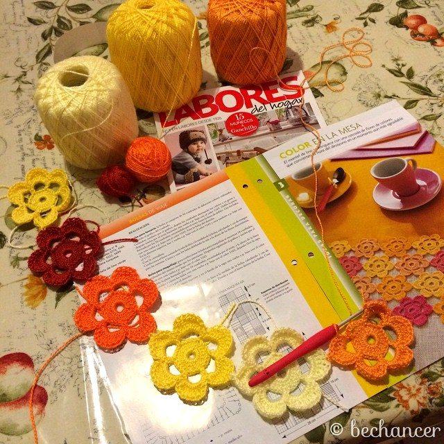 bechancer crochet flowers