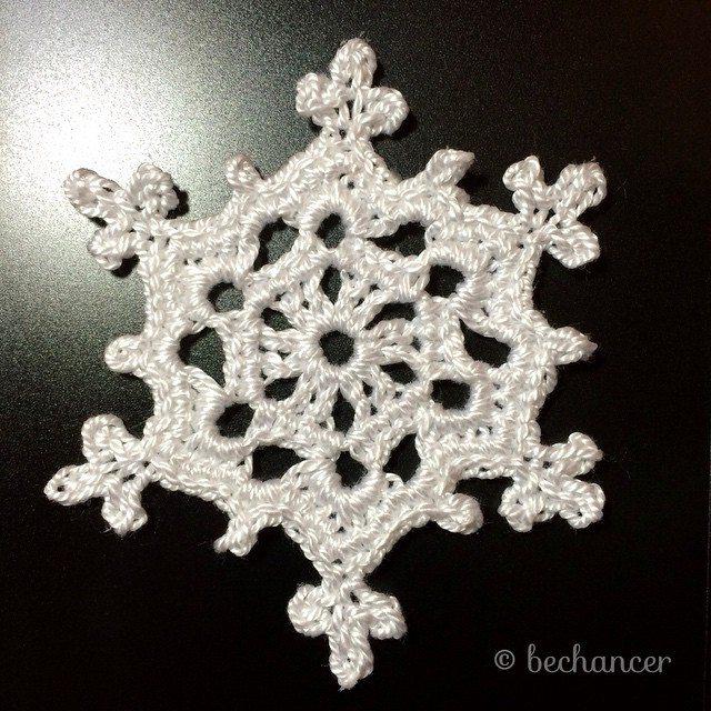 bechancer crochet snowflake