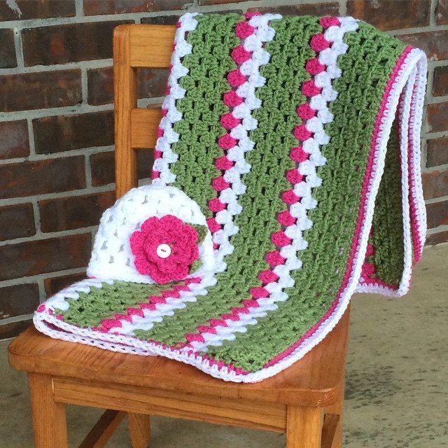 bekajenkins crochet blanket set